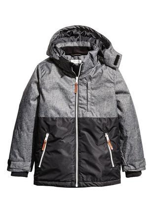 Новая теплая  куртка на флисе на мальчика 14-15 лет рост 164 -170 см h&m