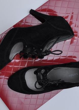 Sandwich туфли классика на шнурках