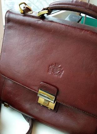 Винтажная сумка портфель wittchen