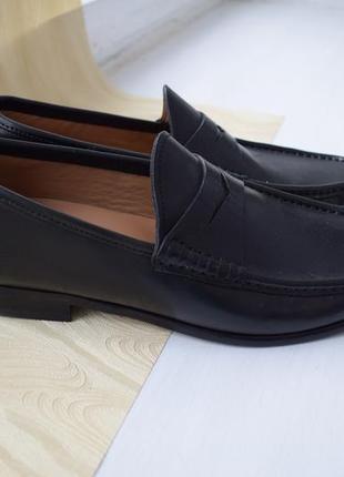 Туфли с натуральной кожи  marks spencer сollezione (индия), р.39