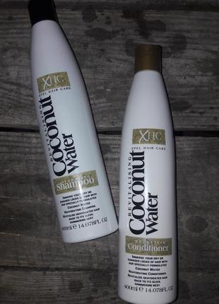 Шампунь та кондиціонер coconut water revitalising