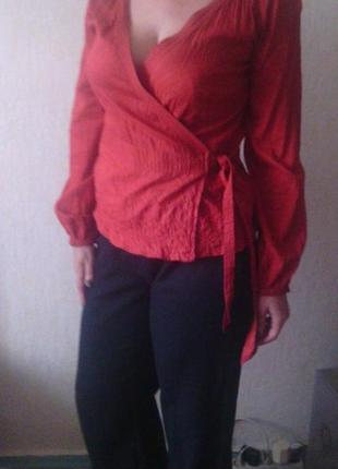 Легчайшая блуза из батиста h&m