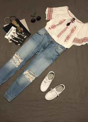Блуза в этно стиле от forewer 21