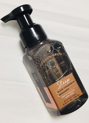"""Мыло пенка для рук aromatherapy """"черная ромашка & бергамот"""", оригинал сша"""