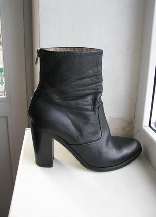 Кожаные ботинки allsaints