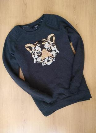 Свитшот с тигром от mishumo