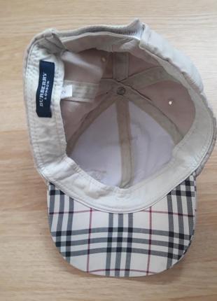 Детская кепка от известного бренда burberry 52 размера3