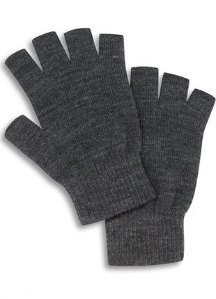 Перчатки без пальцев, митенки primark