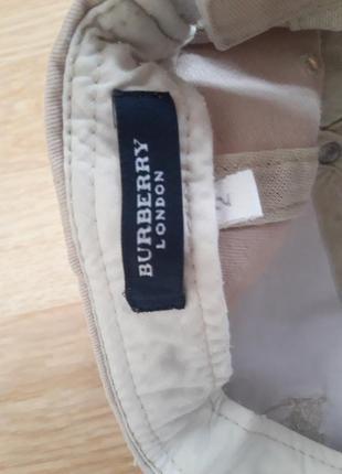 Детская кепка от известного бренда burberry 52 размера4