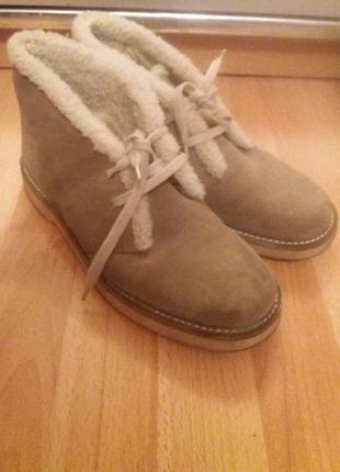 Зимние женские ботинки bally