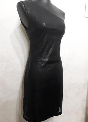 Розкішне плаття на 1 плече xs-s