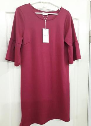 Шикарне трикотажне плаття vila l-xl