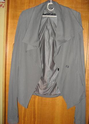 Костюм вечерний пиджак и брюки patrixia pepe оригинал размер s - m