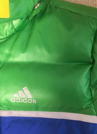 Куртка пуховик детская adidas