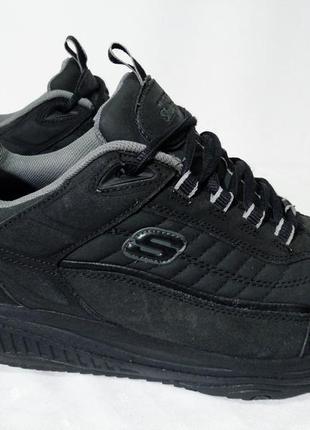 Кожаные кроссовки,ботинки skechers shape-ups(mbt,avia,walkmaxx),  44р,стелька28,5см