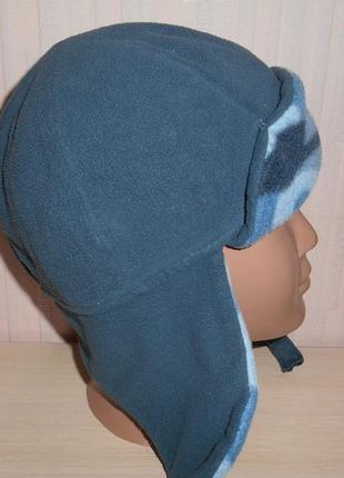 Новая теплая флисовая шапка ушанка peter storm, 7-10 лет, оригинал