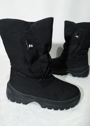 Зимние термо ботинки,сапоги quechua arpenaz snow 300, 37-38р,стелька24см, отличное