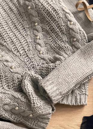 Теплый свитер primark