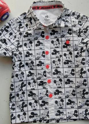 Сорочка рубашка 18-24 месяца