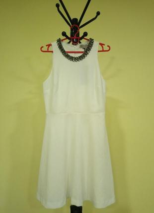 Белое платье marks&spencer