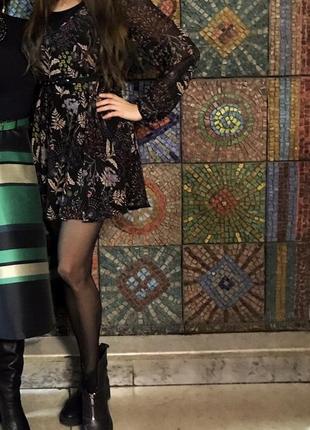 Платье шифоновон