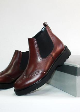 Ботинки челси joia donna натуральная кожа 35-40р