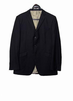 Стильный мужской пиджак из шерсти