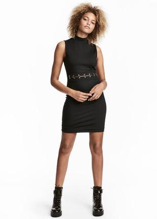 Облегающее трикотажное платье h&m 571942