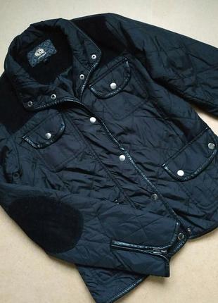 Демисезонная стёганная куртка