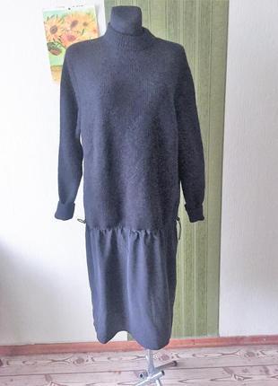 Фирменное комбинированное платье/туника cos