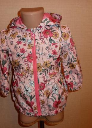 Куртка, ветровка, дождевик плащ nutmeg на 1,5-2 года