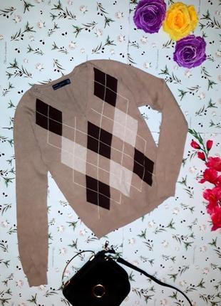 Стильный фирменный свитер zara, , размер 42-44