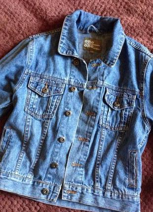 Очень стильная джынсовая курточка