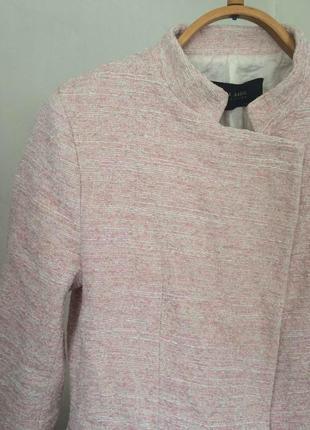 Крутое актуальное пальто косуха zara пиджак жакет
