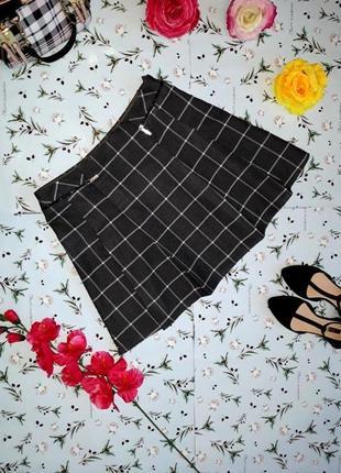 Модная актуальная юбка в клетку f&f, размер 44-46