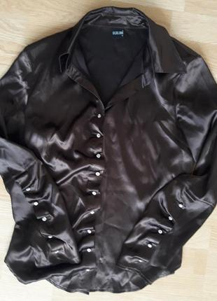 Шикарная шокодадногоцвета блуза 38 размера