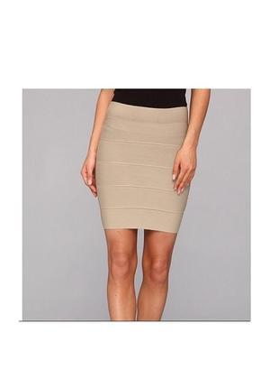 Бандажная юбка с высокой талией new look