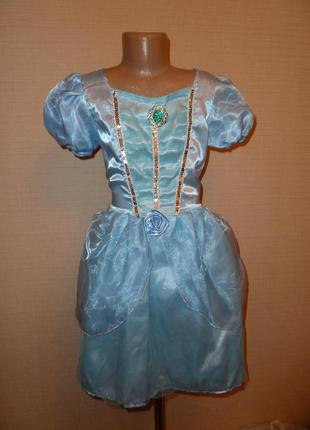 Карнавальное новогоднее платье, платье снежинки, зимы на 6-8 лет в идеале от disney1 фото