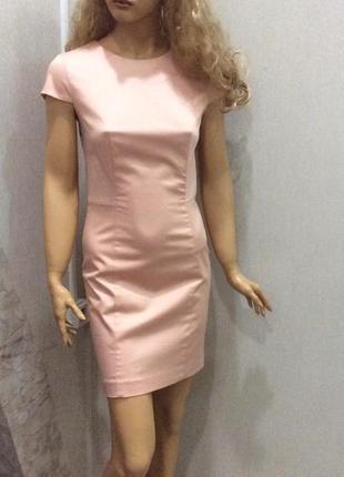 Платье-футляр ajc персикового цвета