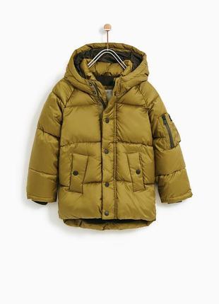 Куртка на мальчика еврозима зима синтепон флис школьник zara парка теплая стильная яркая
