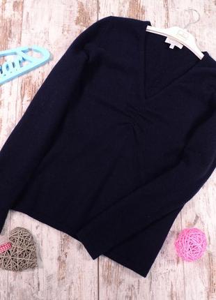 100 % кашемир, базовый пуловер peter hahn