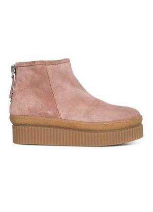 Теплые модные зимние ботинки на платформе, люкс, nude of scandinavia