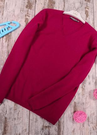 100 % кашемир, базовый пуловер giorgio