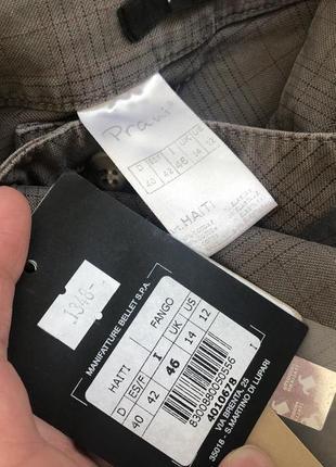 Красиві охайні штани від prani🇮🇹 актуальные брюки в клетку  италия3