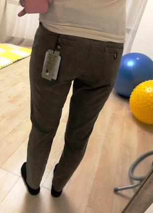Красиві охайні штани від prani🇮🇹 актуальные брюки в клетку  италия5