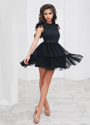 Маленькое черное платье {все размеры}