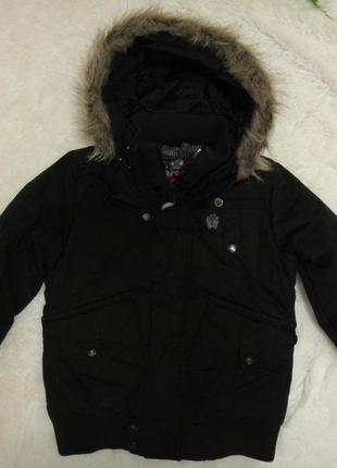 Супер теплая зимняя лыжная куртка protest на девочку р. 128 (6-8 лет) не промокает
