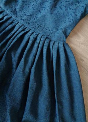 Пышное платье бирюзового цвета {все размеры и расцветки}3 фото