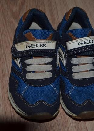 Кроссовки мальчику geox 26р супер