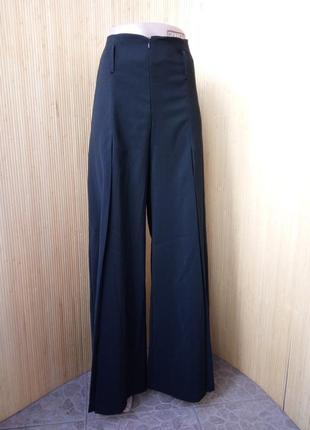 Французские брюки клешь высокая посадка anastasia4 фото